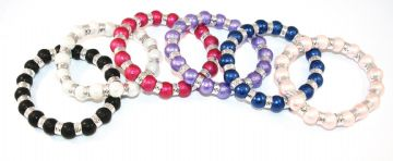 29pcs x Glass blister moon pearl bracelet kit - £1.00 each